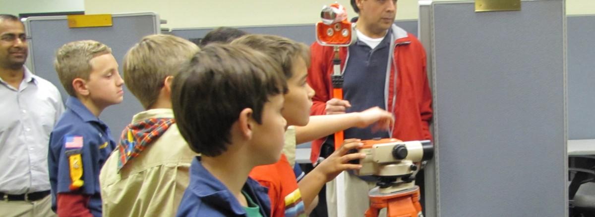 Boy Scout Visit- 2012-2