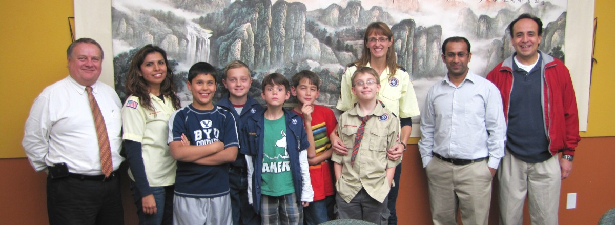 Boy Scout Visit- 2012-3