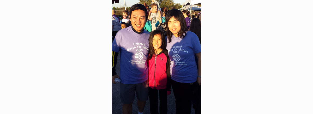 March For Babies Team- Frank Family