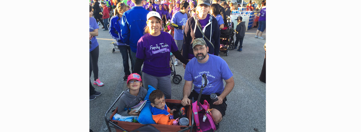 March For Babies Team- Mike Family