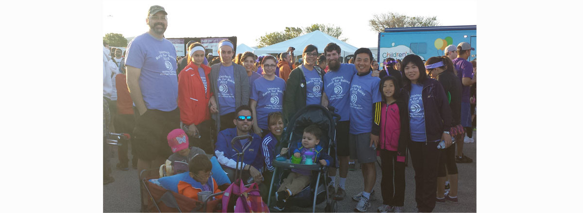 March For Babies Team- resized group